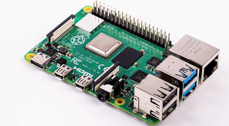 Raspberry PI 4 komplett Barebone Platine