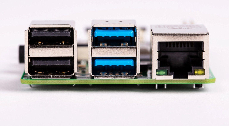 Raspberry PI 4 USB Anschluesse