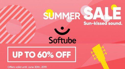 Softube Summer Sale - bis zu 60 Prozent Rabatt auf alles