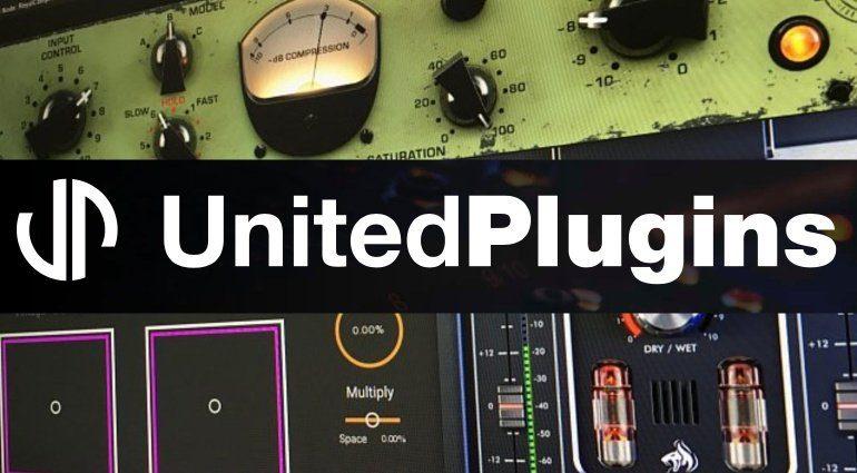 United Plugins startet mit drei Software-Effekten verschiedener Hersteller