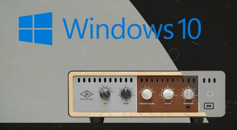 Universal Audio OX Amp Top Box Windows 10