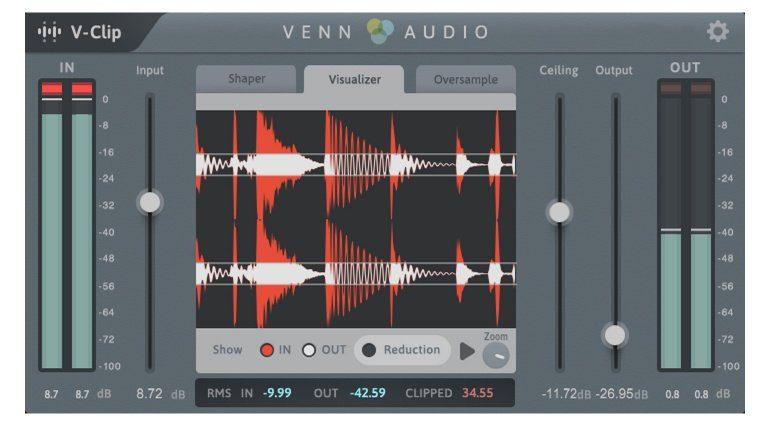 Venn Audio V-Clip Visualizer