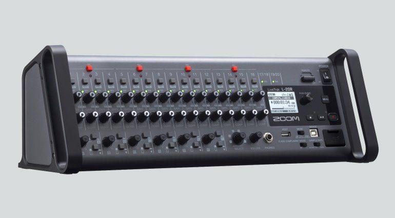 ZOOM L-20R Digitalmixer