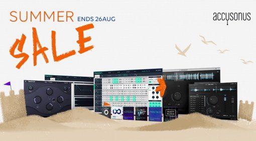 Accusonus Summer Sale mit bis zu 65 Prozent Rabatt!