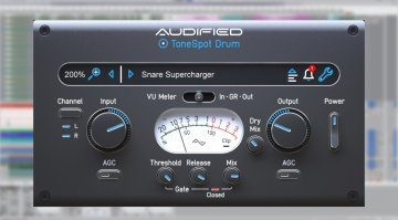Audified ToneSpot Drum Express: und eure Drum Sounds sitzen!