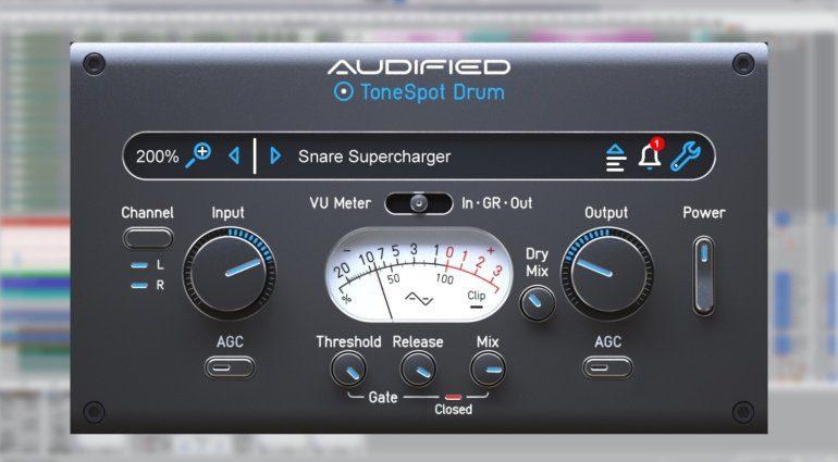 Audified ToneSpot Drum Express: und eure Drum Sounds sitzen!