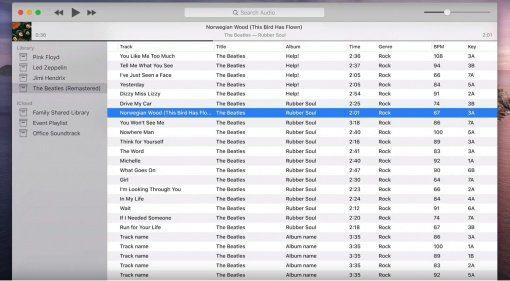 """Kann die App """"Audio"""" für Mac das neue iTunes werden?"""