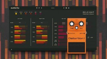 Audiority Deleight und Distortion 1 als Focusrite Plugin Collective Geschenk