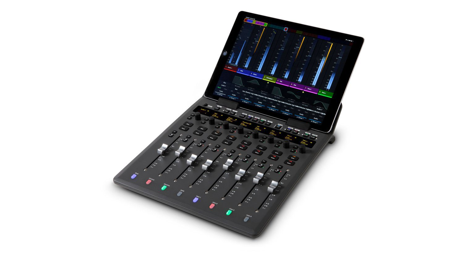 Avid S1 Controller mit optionalem iPad