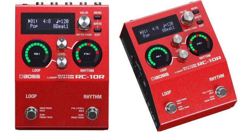 Boss RC-10R Looper Front