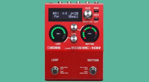 Boss RC-10R Looper Front Teaser