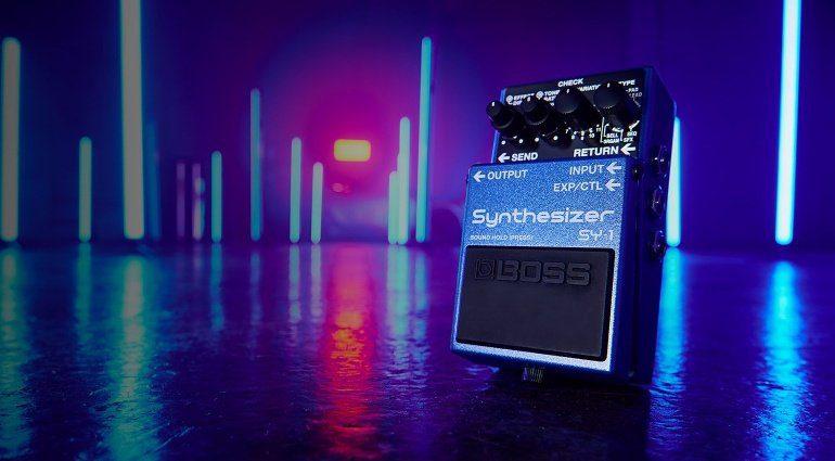 Boss SY-1 Synthesizer Pedal Effekt TEaser