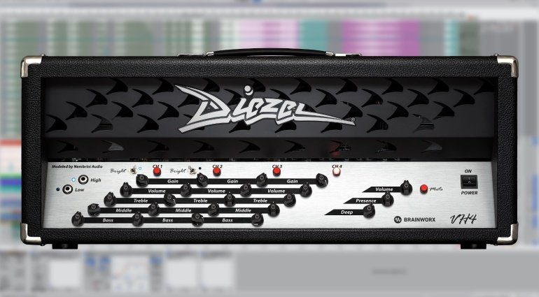 Brainworx Diezel VH4 - der perfekte Gitarren-Amp in Plug-in Form