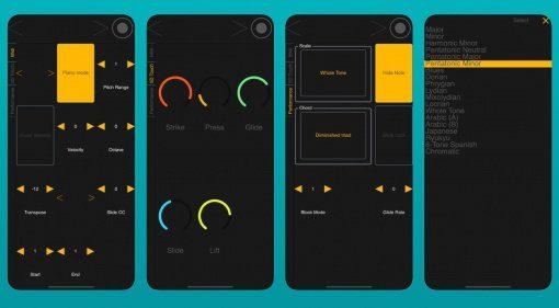 Christophe Tornieri Block Dashboard konfiguriert ROLI Blocks via iOS