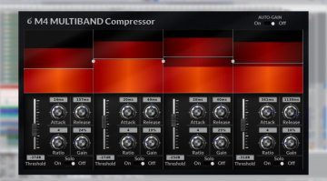 Cut Through Recordings M4 Multiband Compressor v2 läuft auf allen Betriebssystemen!