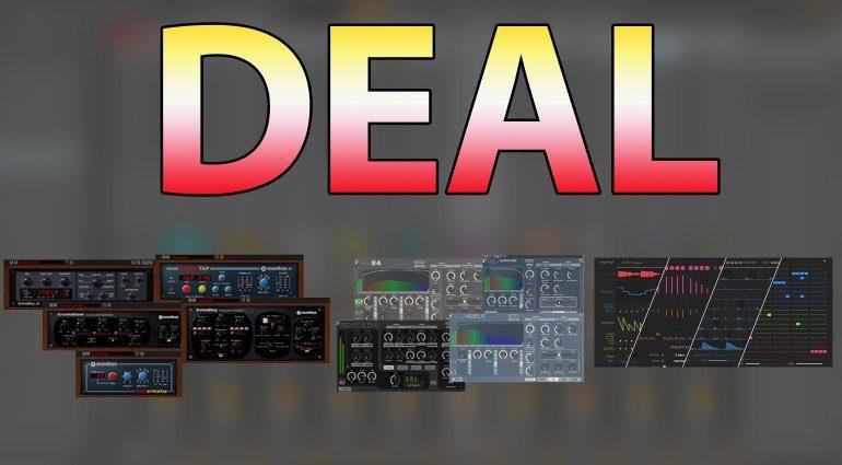 Deals für Soundtoys, Exponential Audio und Sinevibes