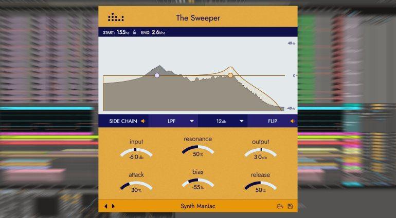 Denise The Sweeper - adaptiver dynamischer Resonanzfilter mit viel Bewegung