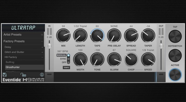 Eventide UltraTap Delay iOS