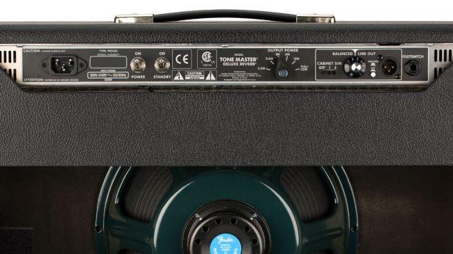 Fender Tone Master rear panel