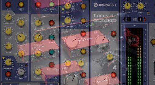 Brainworx bx_console Focusrite SC kostenlos für alle Focusrite Clarett und RED Besitzer!