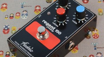 Frederic Effects Verona Regent 150 Preamp Pedal Close