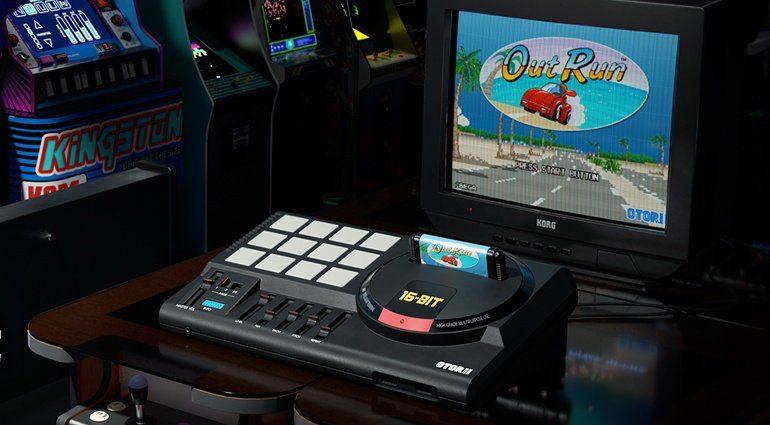 Korg Gadget Switch Update mit Sega und Taito