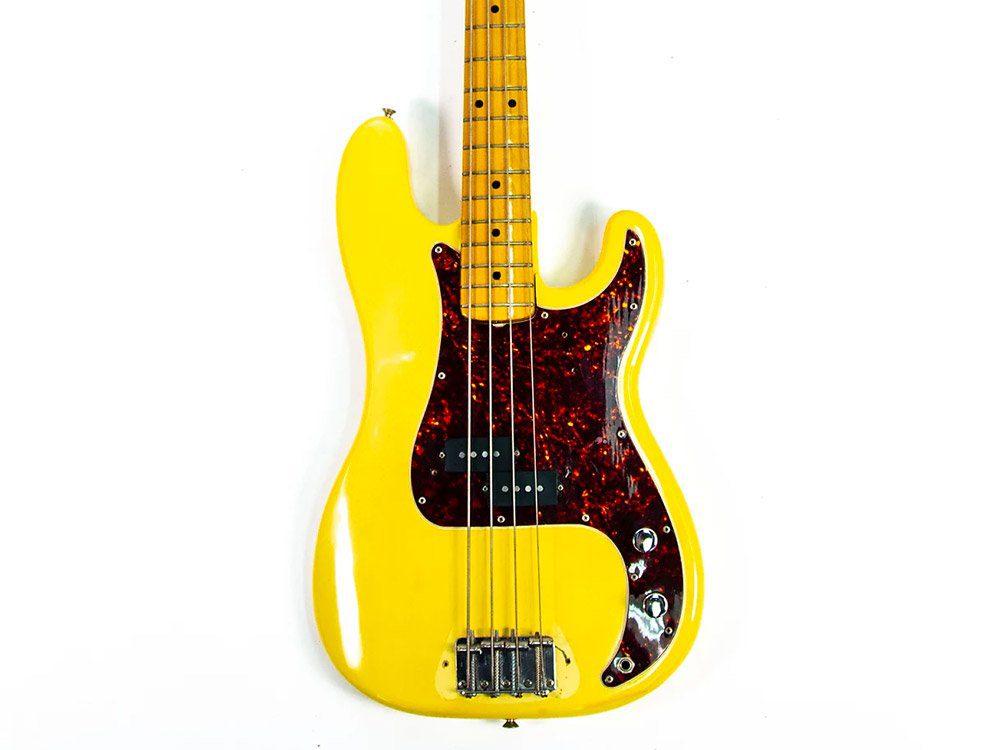 Mark Hoppus blink-182 1972 Fender Precision Yellow