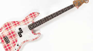 Mark Hoppus blink-182 Groundskeeper Willie Precision Bass Fender