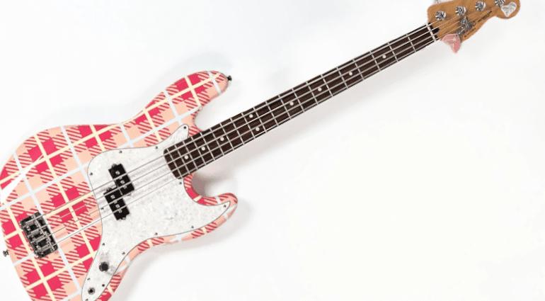 Mark Hoppus blink-182 Groundskeeper Willie Precision Bass Fender
