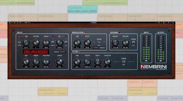 Nembrini Audio präsentiert uns mit Delay3000 ein Roland SDE-3000 Nachbau