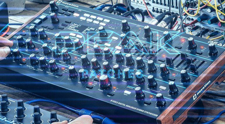 Novation verschenkt 1000 Sounddesigner Presets für Peak und Summit Synthesizer!