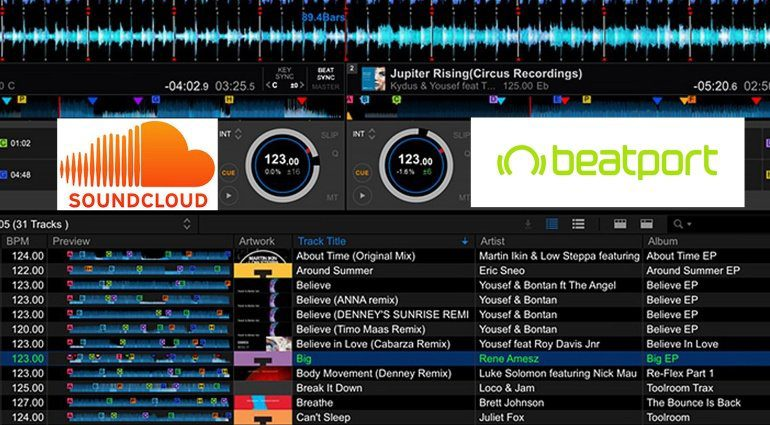 Pioneer Rekordbox bringt Beatport und Soundcloud Streaming