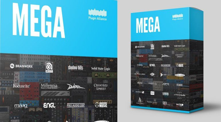 Plugin Alliance Mega Bundle - über 100 Plug-ins als Abonnement