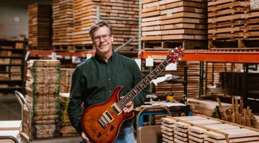 PRS Factory Tour Jack Higginbotham SE Series