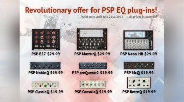 Deal: alle PSP Audioware Equalizer zum Revolutions-Sonderpreis!