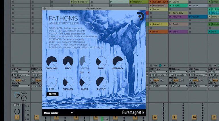 Puremagnetik Fathoms | Spectral Ambient Processor