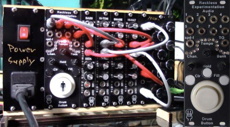Reckless Experimentation Audio Drum Button