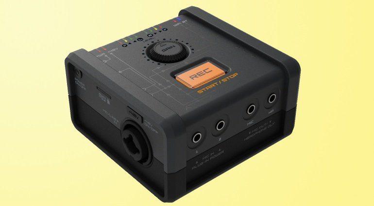 Reclouder: Recording-Interface mit WiFi und Bluetooth