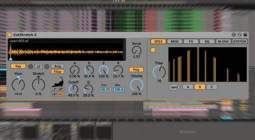 Sonic Bloom CatStretch 3 - extremes Timestretching für Ableton Live