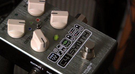 Source Audio C4 Synth Effekt Pedal Front