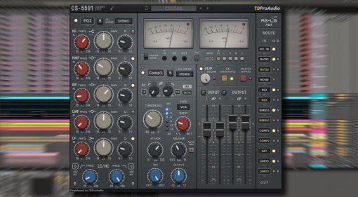 TBProAudio CS-5501 - ein kostengünstiger Channelstrip für jeden Kanal