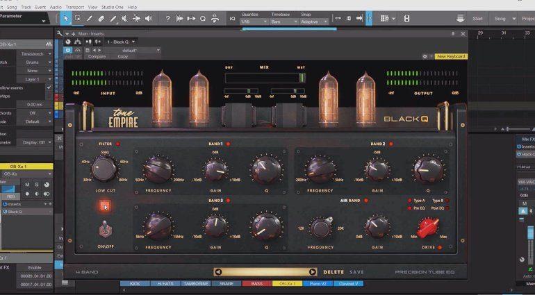 Tone Empire Black Q - ein virtueller Equalizer mit viel Röhren-Sound