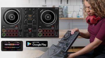Pioneer WeDJ Android mit DDJ-200 Unterstützung