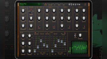 Yonac Roxsyn Guitar Synthesizer - eine virtuelle Gitarre für das iPad