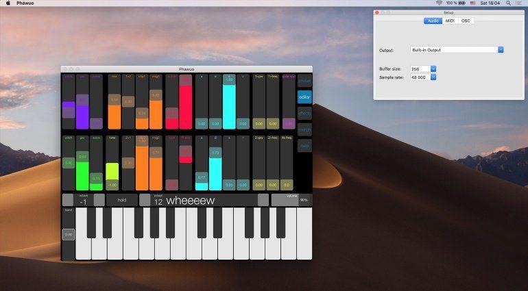 Phawuo 3.0 - ein ungewöhnlicher Synthesizer für macOS und iOS