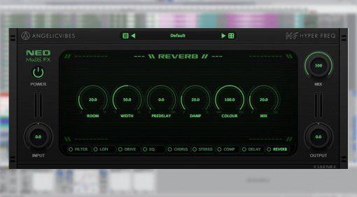 AngelicVibes Neo - Multi-FX Engine mit neun Effekten