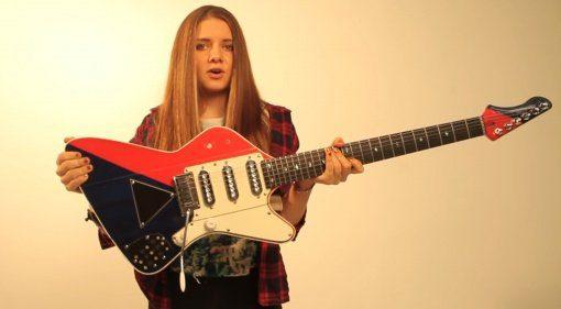 Arielle Signature E-Gitarre Front Brian May Guitars