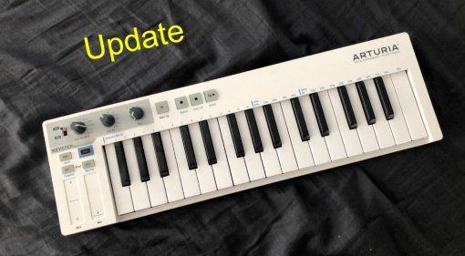 Arturia Keystep Update