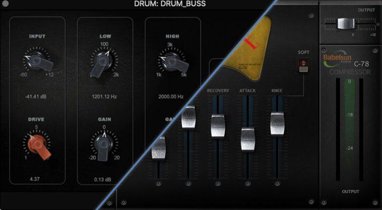 Babelson Audio veröffentlicht FD2N Tube EQ und C-78 Compressor