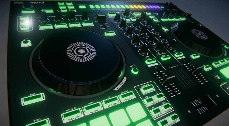 Beat.School Roland DJ-505 Controller